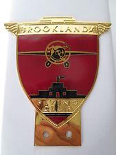 Brooklands Badge. Brooklands motor track. Flying club.aero club. JCC.