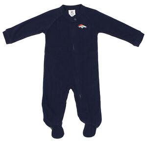 Outerstuff NFL Infants Denver Broncos Blanket Sleeper Coverall