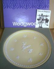 Wedgwood Jasperware Yellow Large Plate Boxed