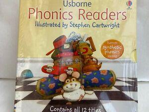 Usborne Phonics Readers Collection 12 English Books Livres anglais Enfants Neuf