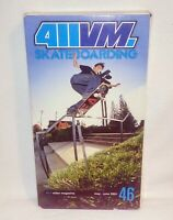 411VM Skateboarding #46 May - June 2001 Skateboard Video Magazine VHS Tape