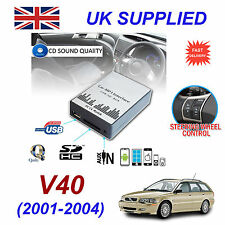 For VOLVO V40 MP3 SD USB CD AUX Input Audio Digital CD Changer Module 01-04 HU