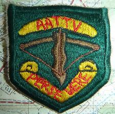 PERSEVERE - Rare Patch - AATTV - Australian Training Team - Vietnam War - 4031