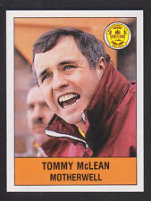 Panini - Football 91 - # 453 Tommy McLean - Motherwell