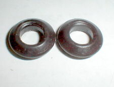 "1 Pair ""V"" Pointed Silicon Tires La Cucaracha style COX 1/24 Slot Car NOS"