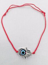 Red STRING KABBALAH LUCKY Bracelet Against Evil Eye Success Hand Fatima Hamsa