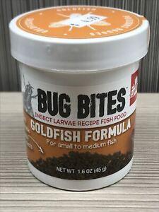 Fuval Bug Bites Goldfish Formula 1.6oz 45grams Insect Larvae Recipe