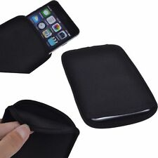 Black Travel Portable Sponge Sleeve Pouch Case Cover for iPhone 7 8 Plus X 10
