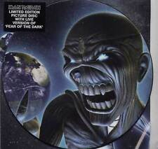 "NEW! IRON MAIDEN DIFFERENT WORLD 7"" VINYL PICTURE PIC DISC + BACKING CARD"