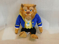 """Disney Store Authentic BEAST Large Plush Toy Doll Beauty and The Beast 17"""""""