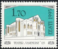 Estonia 1995 Theatre/Buildings/Architecture/Heritage/History/Acting 1v  (ee1106)
