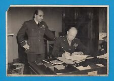 Historic picture Eisenhower Charles Edward Hastings British official photo RfT4