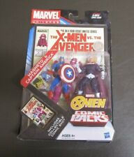 Magneto and Captain America MARVEL UNIVERSE Comic Packs Hasbro MIB