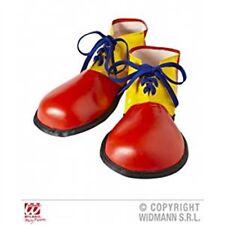 Jaune Et Rouge Adultes Clown Chaussures