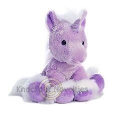 """Dreaming Of You Unicorn - Purple 10"""" Stuffed Animal Play Fun Toy"""