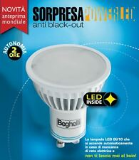 LAMPADA A LED BEGHELLI SORPRESA POWERLED GU10 4W 230V 3000K LUCE CALDA