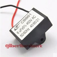5pcs CBB61 6UF 450V Ceiling Fan Capacitor start capacitor