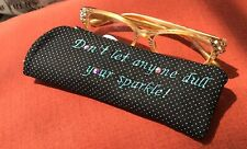 Glasses Case Crystals Customizable Colors Readers Glasses Women's Gift