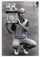 Début de Golf-Paul Way-signé-photo exploitation trophée-RARE
