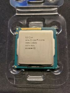Intel i7-3770 SR0PK 3.40Ghz CPU