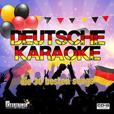 Mr Entertainer Deutsche (German) Karaoke Double CDG Disc Pack