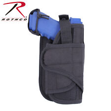 Black Tactical Vertical Medium Large Frame Pistol MOLLE Adjustable Holster 10890