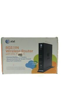 AT&T Pace Model 4111N Broadband ADSL Wireless Router Modem Original Box w/ Wires