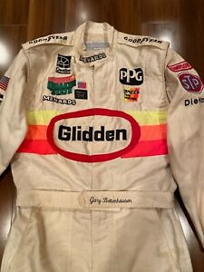 Gary Bettenhausen Race Used Worn Drivers suit Fire Suit Indy 500 Indycar