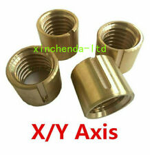 2pcset Bridgeport Milling Machine Brass Cross Feed Copper Nut Yx Axis Mill Tool