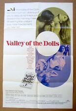 New listing Valley Of The Dolls Patty Duke Sharon Tate Barbara Parkins 27x41 Original Poster