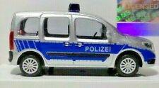 Busch 50658 Mercedes-Benz Citan Kombi Polizei, 1/87 Neu + OVP