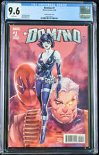 Domino (2018) #1 CGC 9.6 Rob Liefeld 1:25 Incentive Variant Cover!