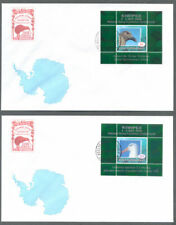 Ross Dependency-2006 Kiwipex set of 2 FDC-Birds-uncommon min sheets