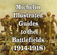 Michelin Illustrated Guides to Battlefields of World War 1 DVD Maps Medal Hat 22