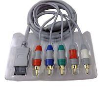 YUV Komponenten Kabel F. Nintendo Wii Wiiu AV KOMPONENTENKABEL Vergoldet 480p HD
