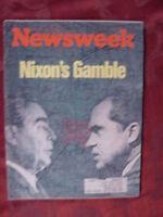 NEWSWEEK May 22 1972 NIXON'S VIETNAM WAR PRE-SCHOOL +++