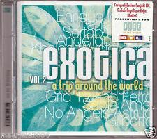 Exotica vol.2 (2003) 2CD NUOVO Enrique Iglesias, Escape. Tiziano Ferro, Perdono