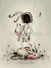 Affiche LOSTFISH Alice A Travers Le Miroir 04 30x40