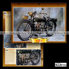 #125.05 Fiche Moto FN FABRIQUE NATIONALE 285 TT 1923 Classic Motorcycle Card
