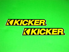 KICKER SUBWOOFERS SPEAKERS CAR TRUCK JEEP SUV TOOLBOX MAN CAVE STICKERS DECALS
