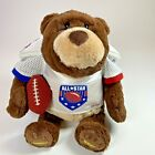 """Gund Gridiron Football Fanatic Talking Teddy Bear Offensive Defense 13"""" 320474"""