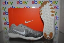 Nike Free TR Flykit 2 Womens Training Shoes 904658 002 Pale Gray/ Charcoal NIB