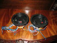 Vintage Infinity RS-6000 Speaker Crossover network divider pair tested
