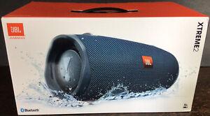 JBL XTREME2, Portable Bluetooth Speaker, Blue, IPX7 Waterproof, NIB, Authentic