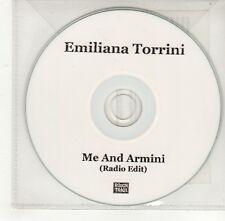 (GO283) Emiliana Torrini, Me And Armini - 2008 DJ CD