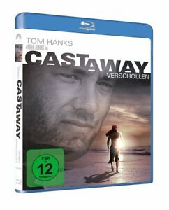 CAST AWAY - Verschollen - Tom Hanks, Helen Hunt, Nick Searcy NEW BLURAY REGION B