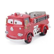 Disney Pixar 1:55 Cars Red Fire Truck Rescue Car Diecast Metal Alloy Model Gift