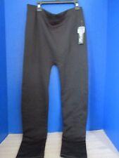 FEATHERS~Black STRETCH LEGGINGS / PANTS~Women's 1X / 2X~NWT~Very Soft