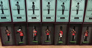 Britains: Boxed Sets - Scots Guards On Parade. 54mm Metal Models