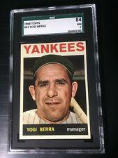 1964 Topps # 21 Yogi Berra SGC 84 NM 7